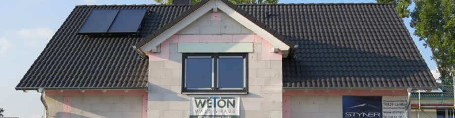 Bauen mit WETON Massivhaus - Erfahrungen mit Weton - Kern-Haus